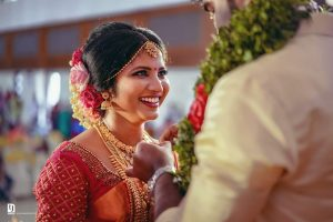 a candid click by a wedding photographer