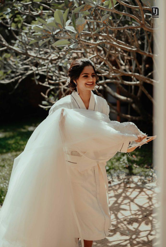 wedding photography of bride osheen